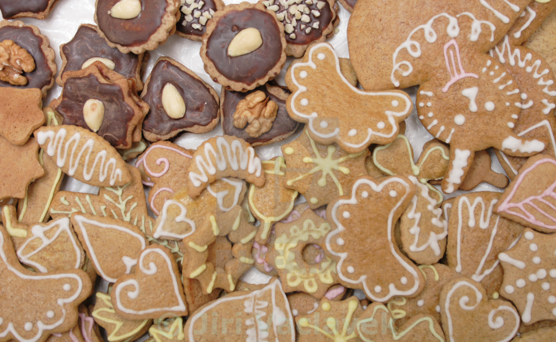 Christmas Cookies From Czech Republic License Download Or Print