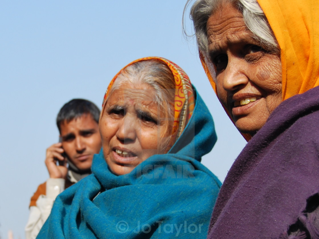 """Indian women in Rajastan, India"" stock image"