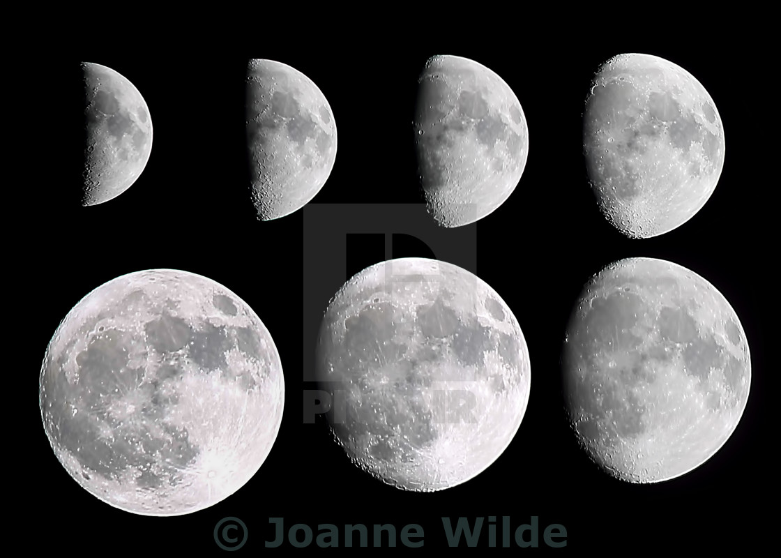 """""""Moon Phases"""" stock image"""