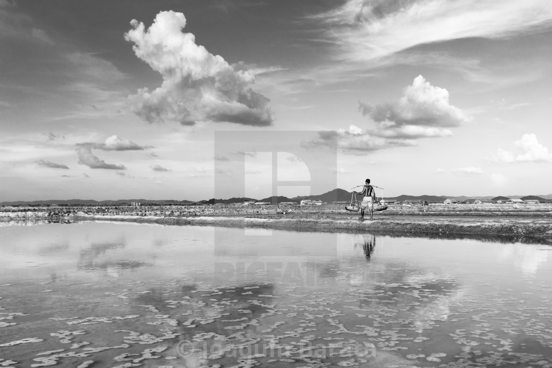 """Salt fields"" stock image"