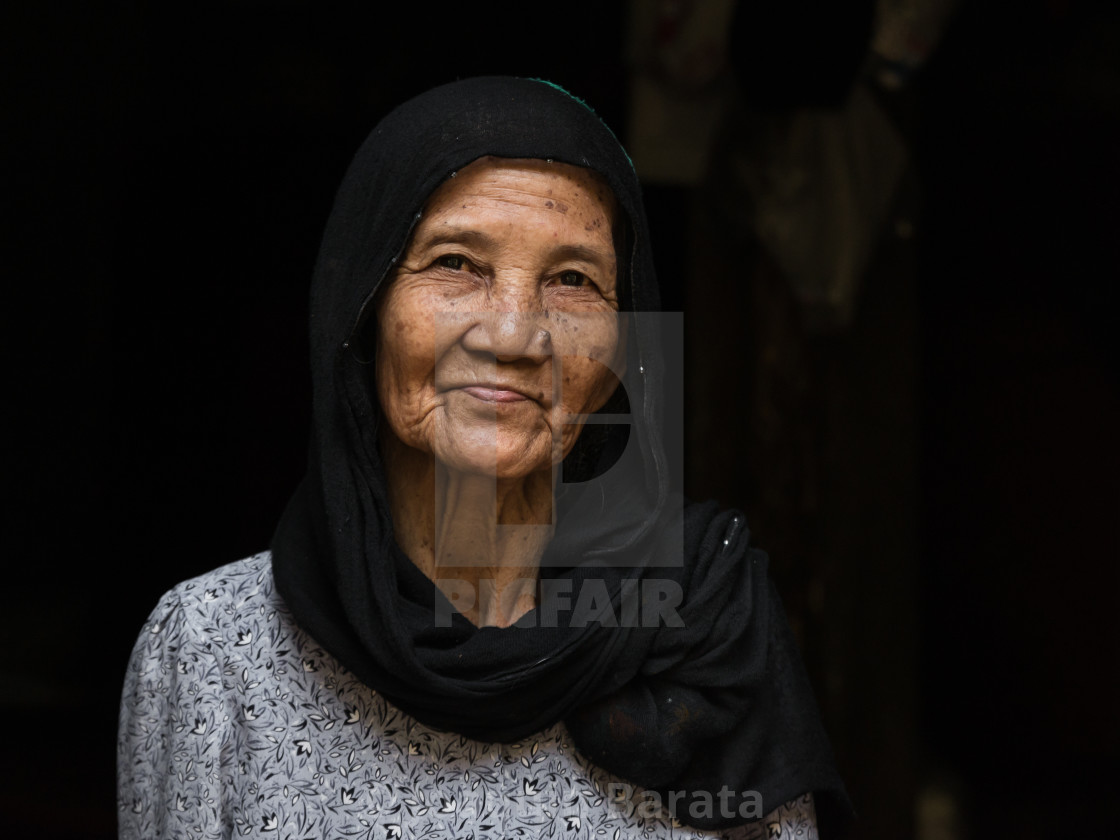 """Cham woman"" stock image"
