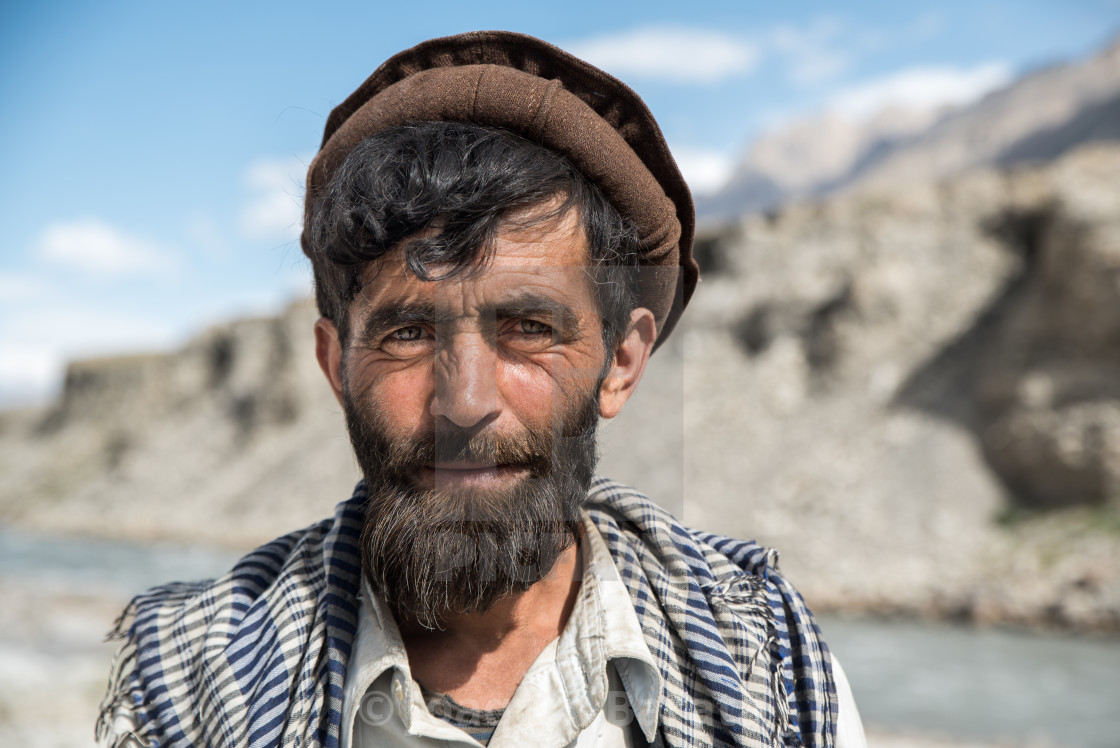 """Afghan man"" stock image"