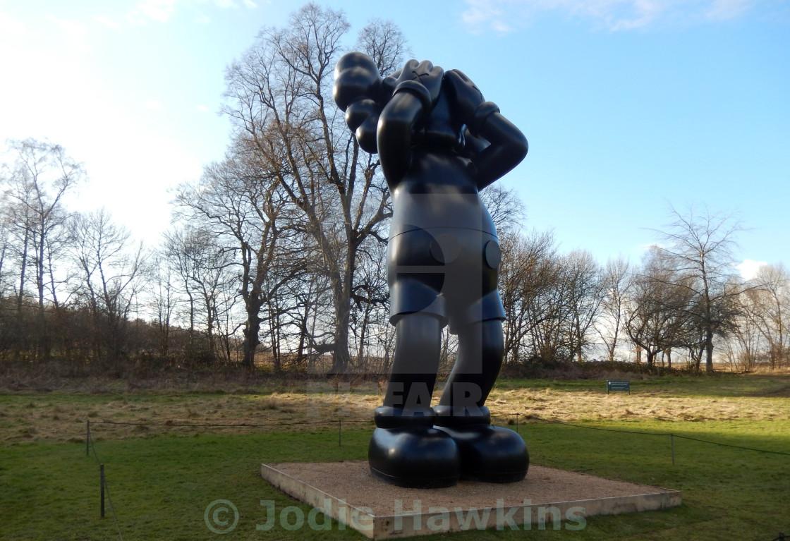 18274b05 KAWS at Yorkshire Sculpture Park - License, download or print for ...