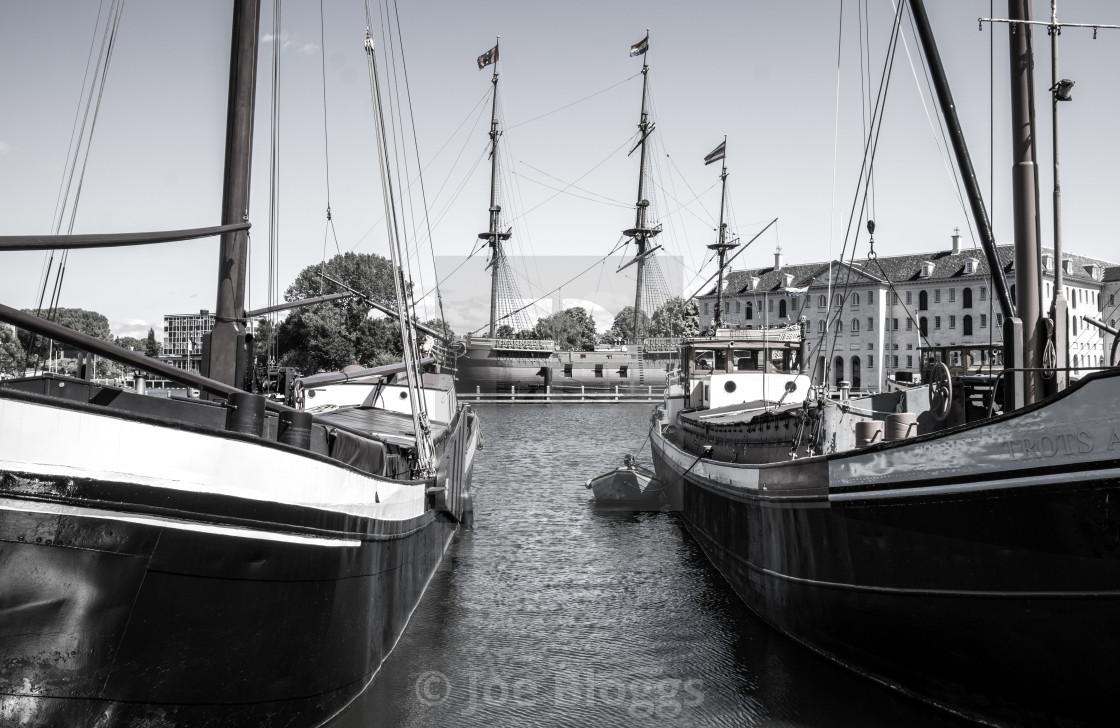 """Ships"" stock image"