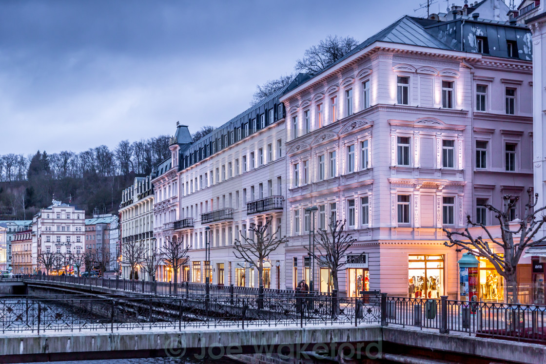 """Karlovy Vary, Czech Republic"" stock image"