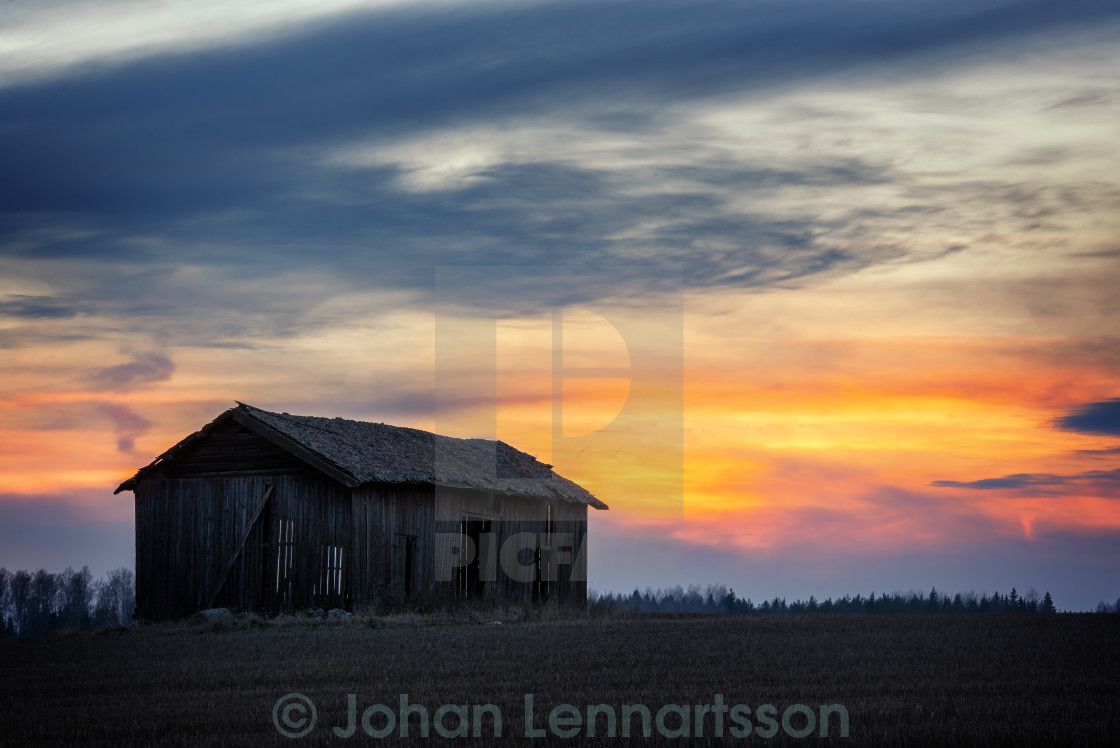 """Old barn"" stock image"
