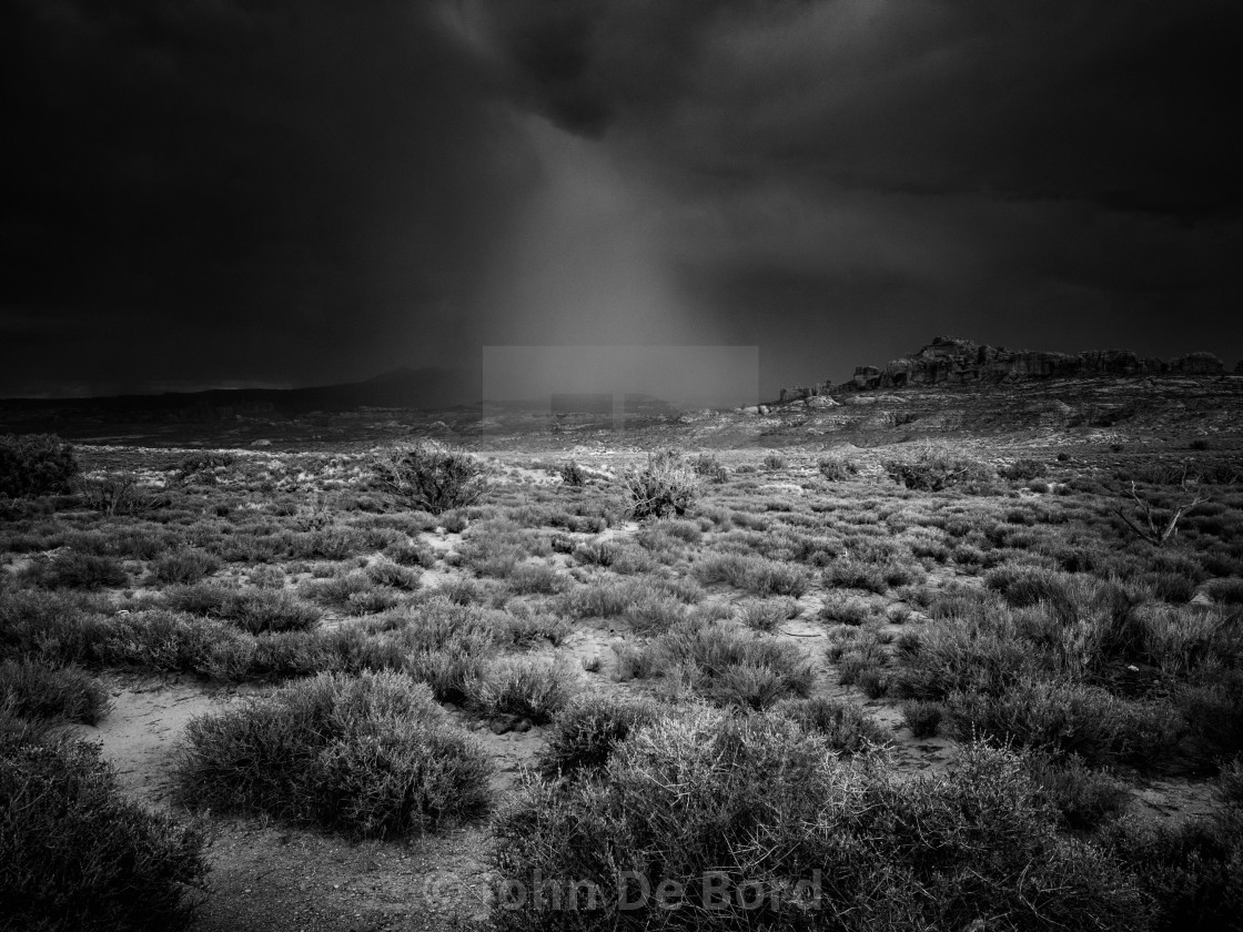 """Storms Of The Desert"" stock image"