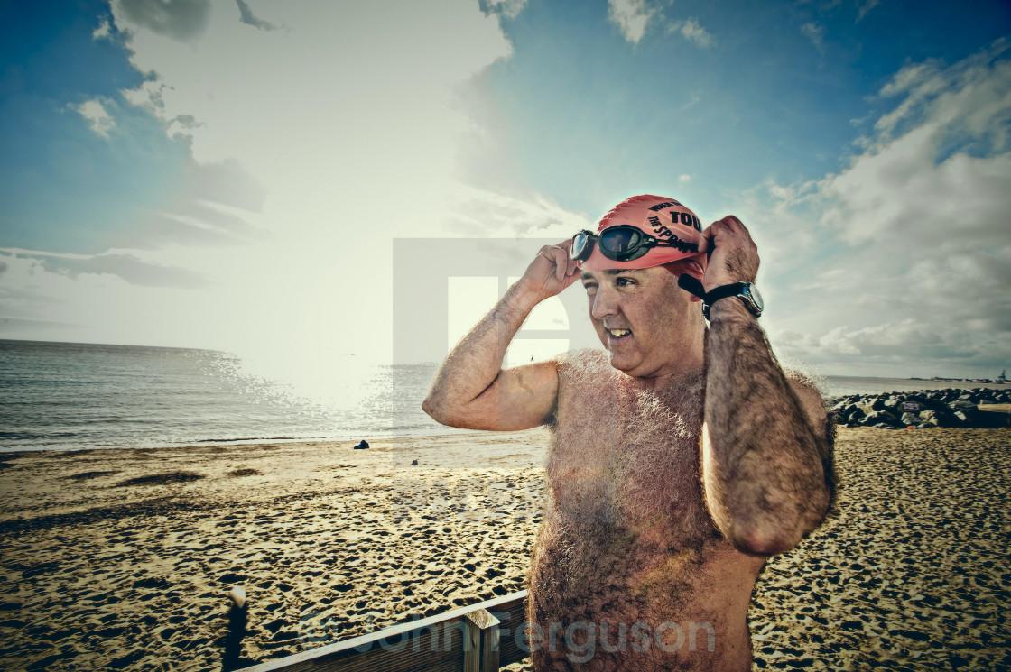 """Sea swimmers"" stock image"
