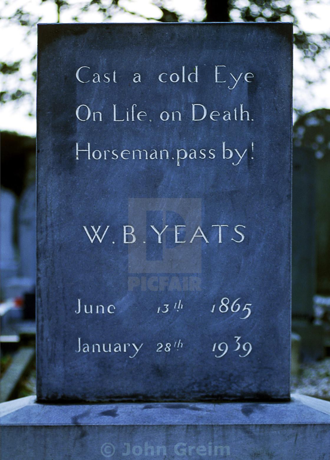 wb yeats as an irish poet