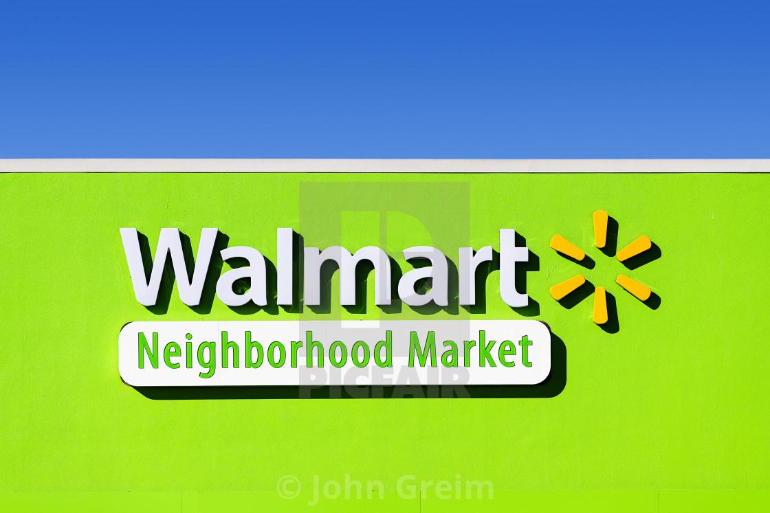 WalMart Neighborhood Market store - License, download or