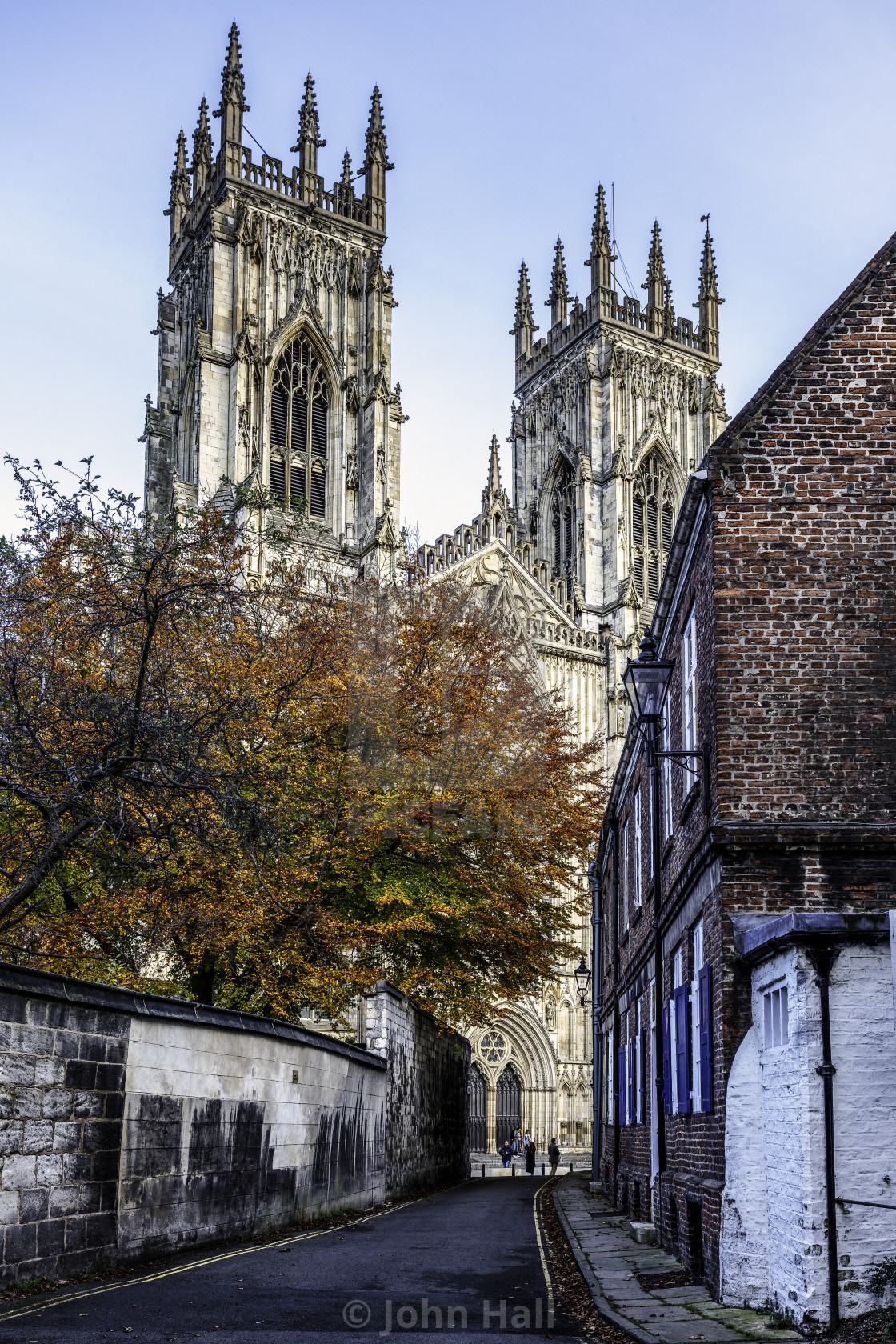 """York Minster in Autum"" stock image"