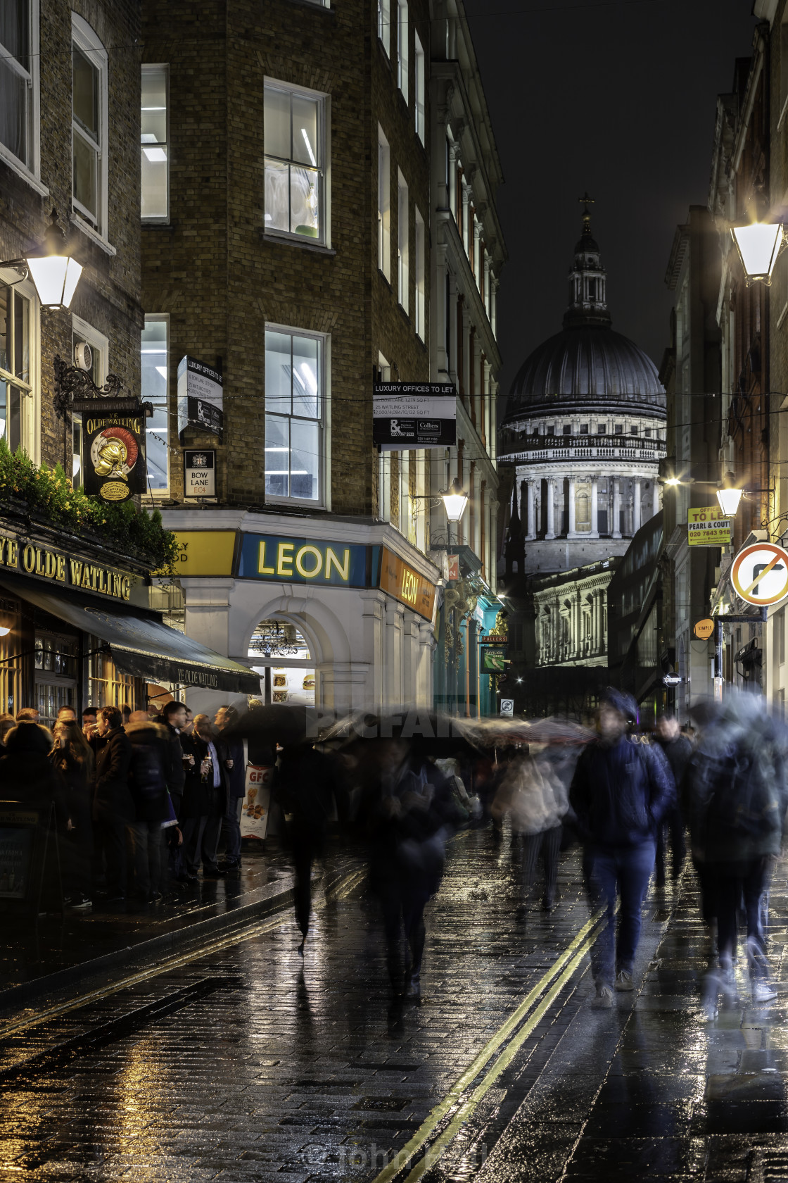 """Home time, London"" stock image"