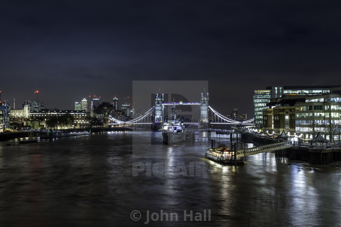 """The Tower Bridge, London"" stock image"