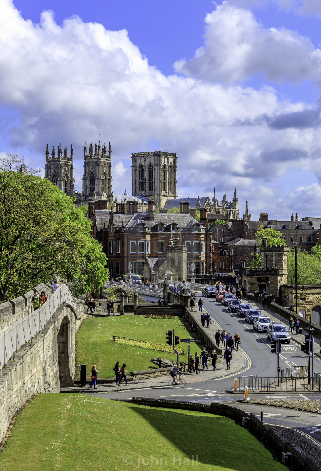 """Classic View of York Minster"" stock image"