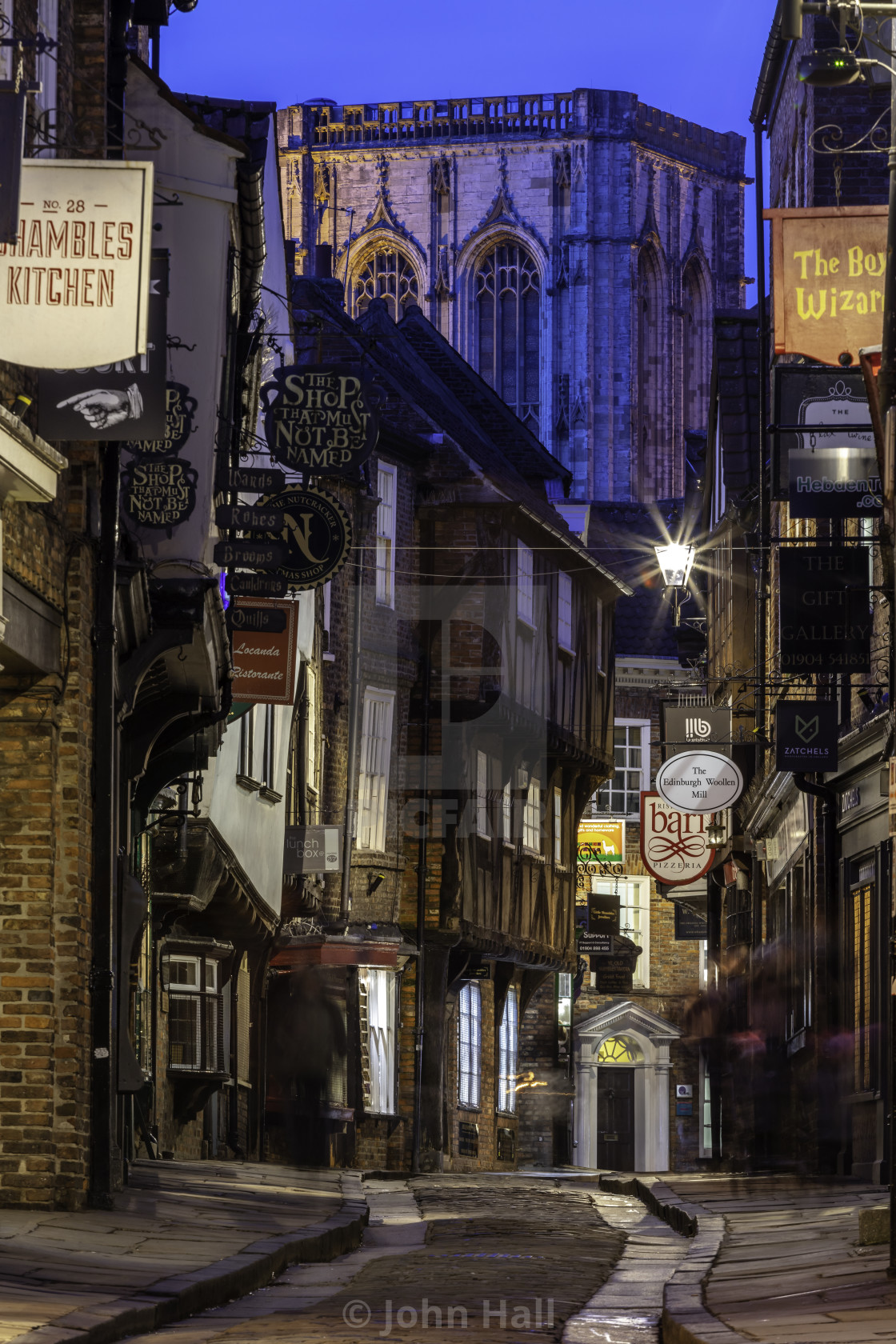 """The Shambles, York, England"" stock image"