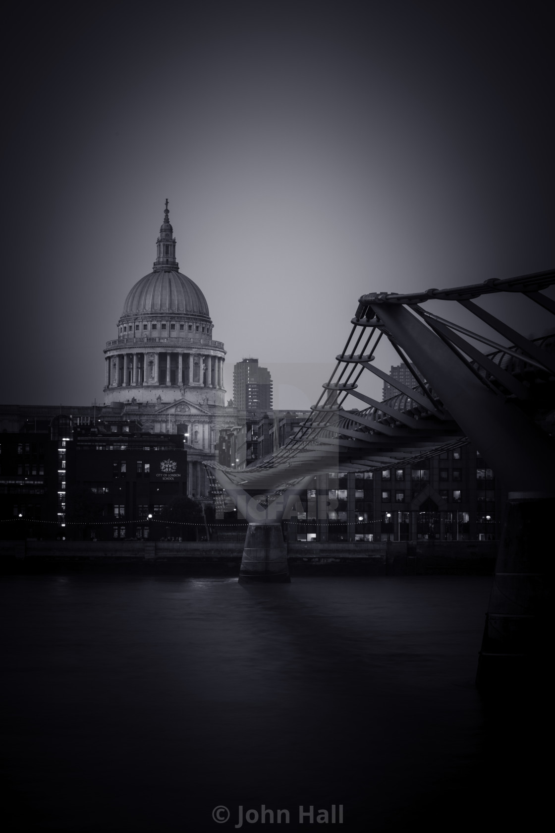 """St Pauls Cathedral, London."" stock image"