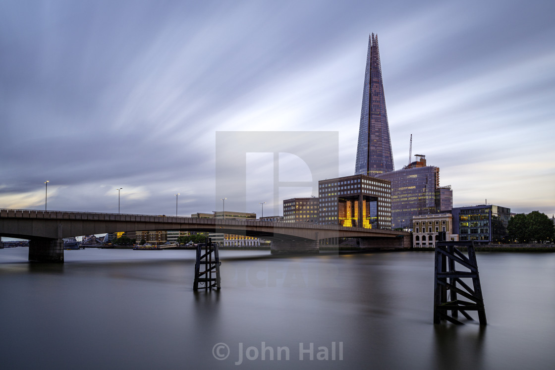 """Shard Sunset"" stock image"