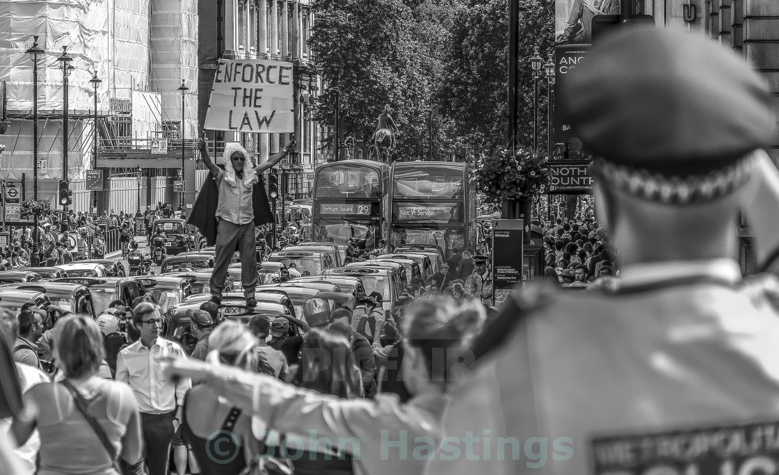 """Whitehall Demo"" stock image"