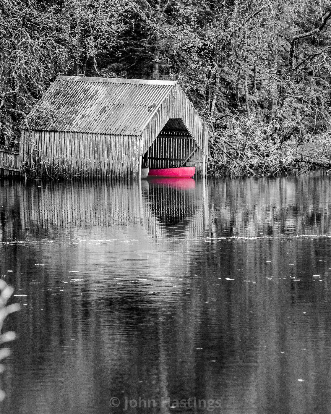 """Boathouse"" stock image"
