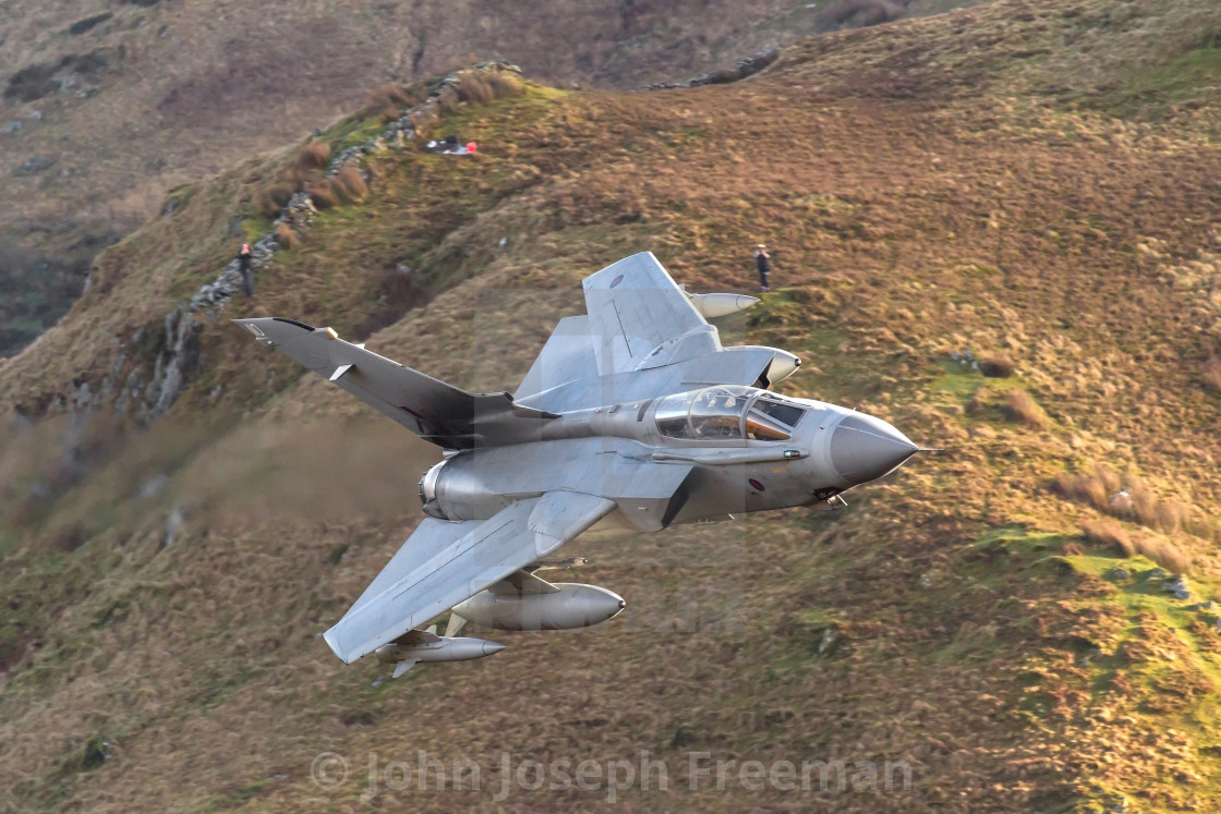 """Panavia Tornado GR4 - Royal Air Force."" stock image"