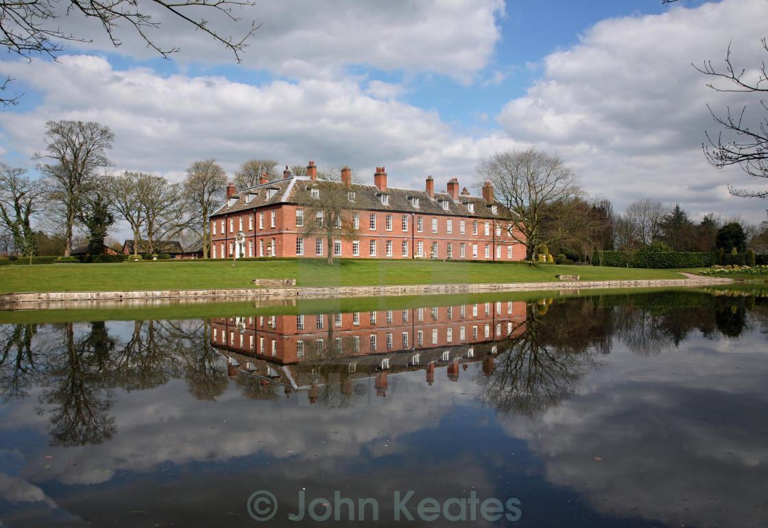 """""""Gawsworth New Hall, Cheshire"""" stock image"""