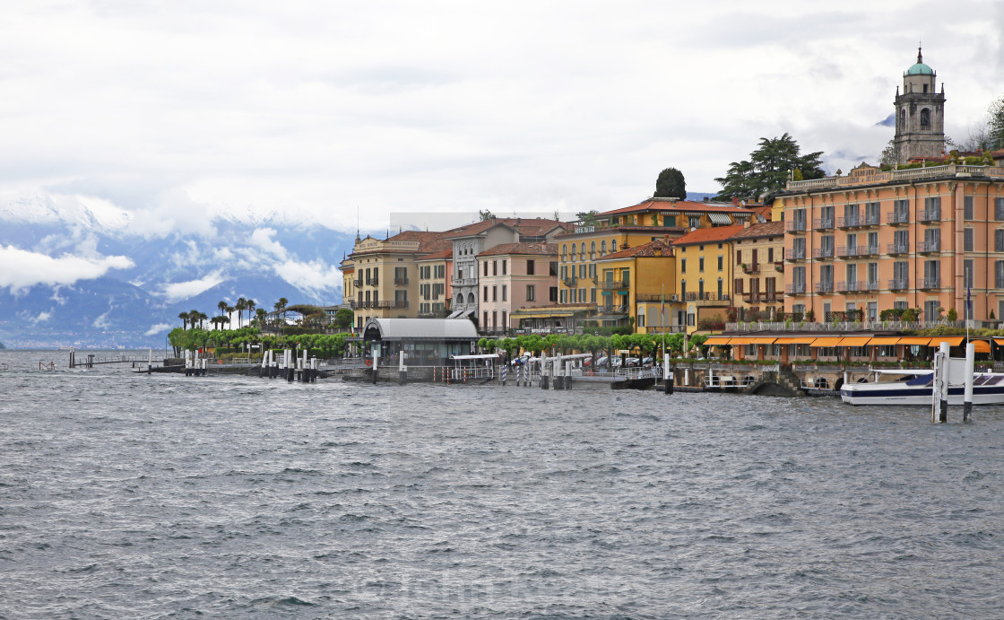 """Bellagio Lake Como Lombardy Italy"" stock image"