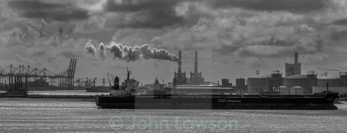 """Hoek Harbour industrial"" stock image"