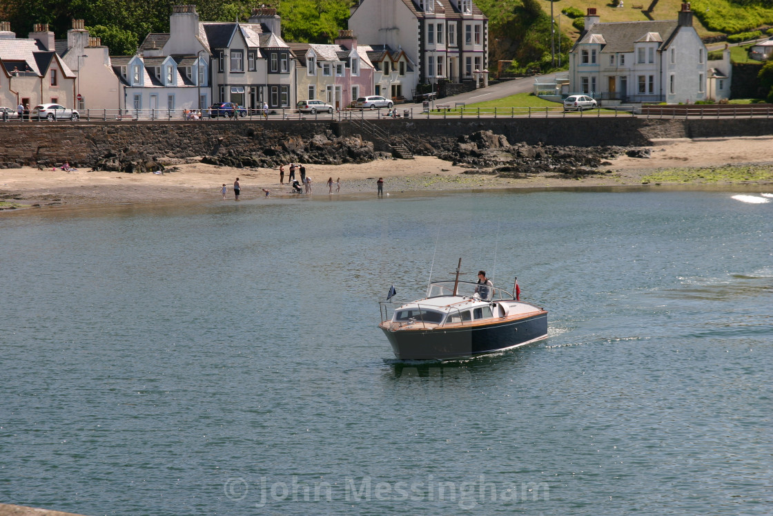 Boat arriving in Portpatrick