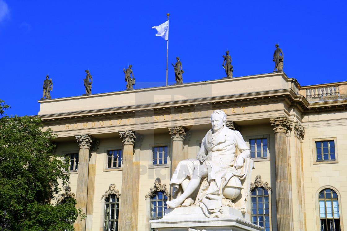 """Humboldt University of Berlin"" stock image"
