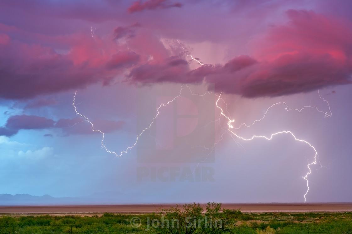 """Lightning"" stock image"