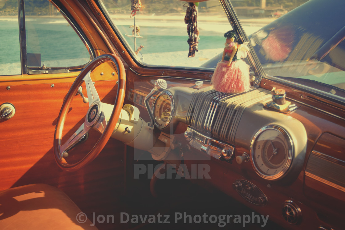 Vintage Car Dashboard License Download Or Print For 10 00 Photos Picfair