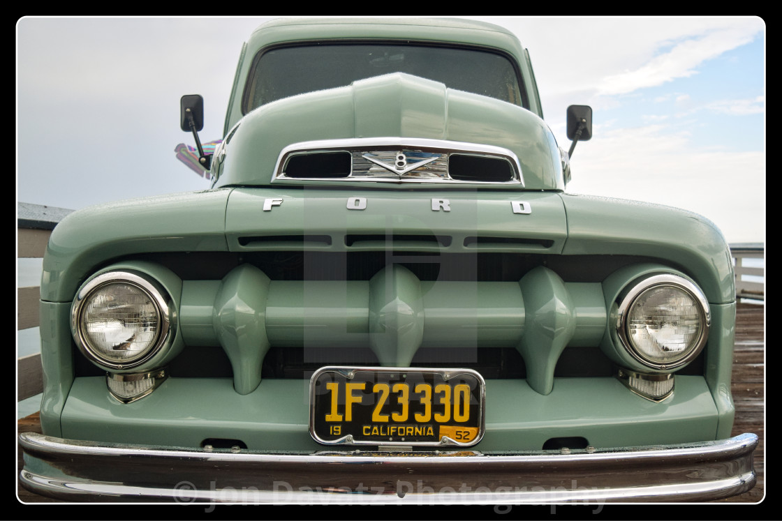 """""""Ford Sea Country front"""" stock image"""