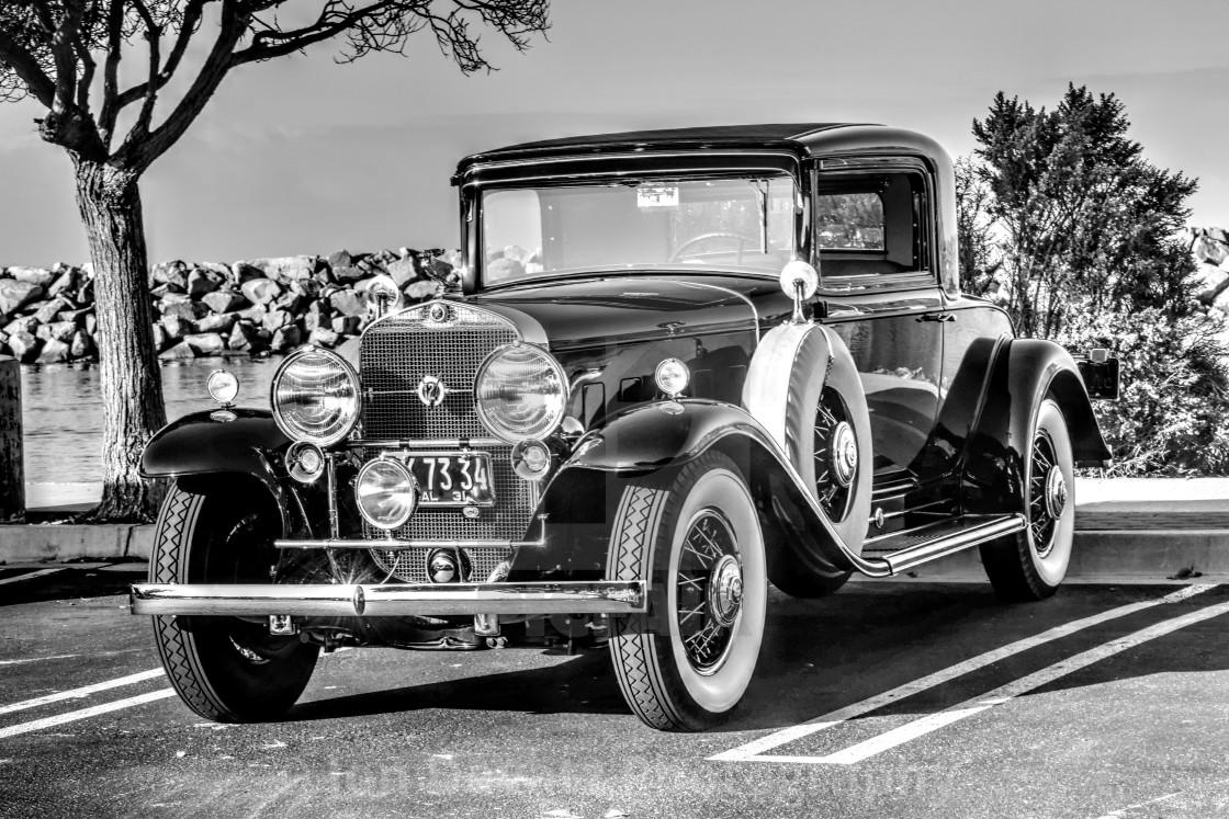 """Vintage Cadillac"" stock image"
