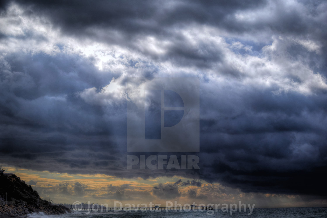 """""""Cloudy day"""" stock image"""