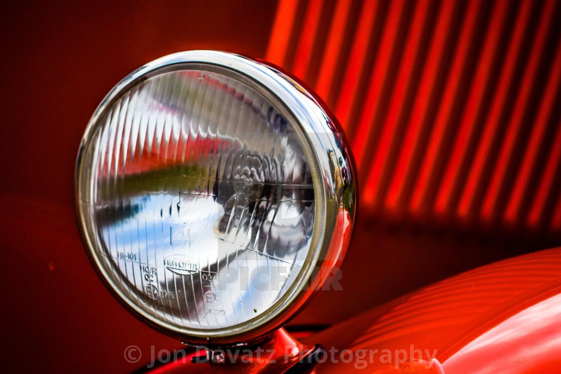 """""""Vintage Head Light"""" stock image"""