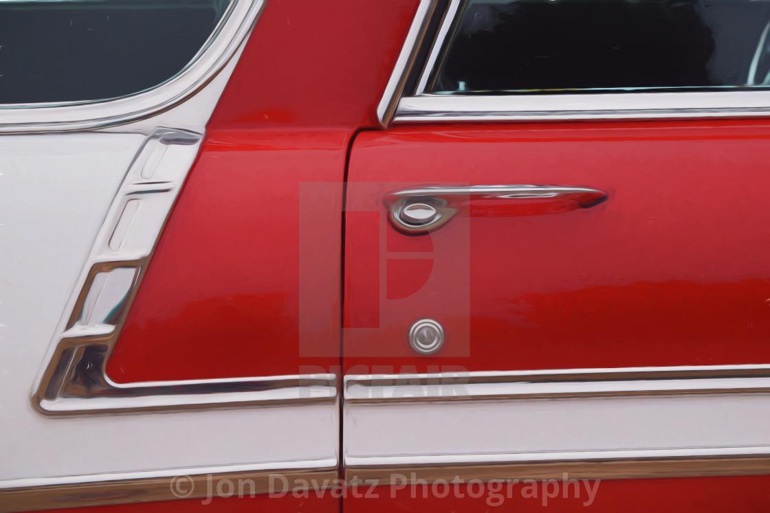 """Chevy Belair"" stock image"