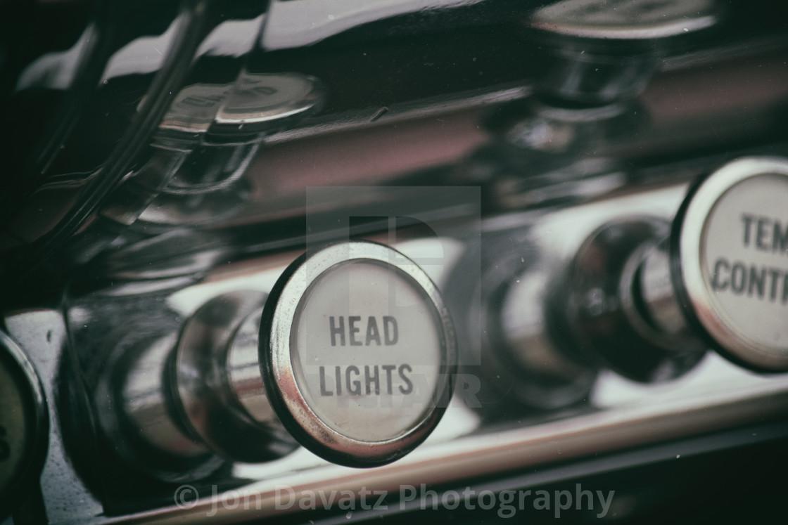 """Headlight Knob"" stock image"