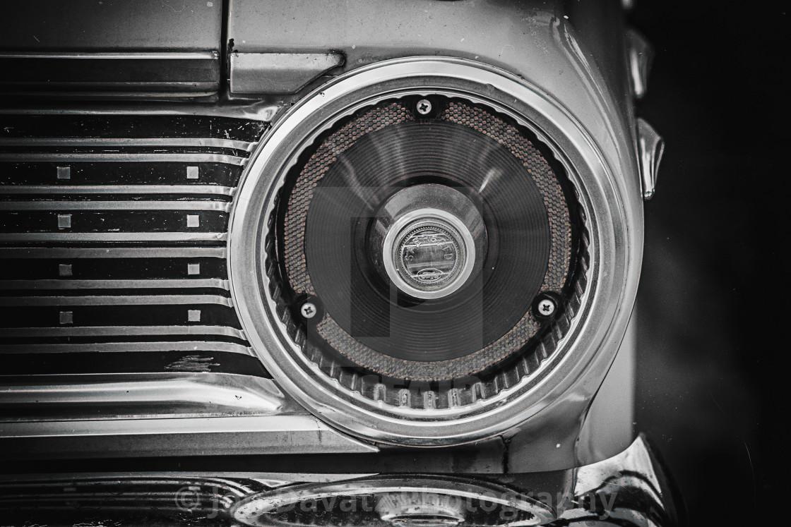 """1962 Ford Fairlane 500"" stock image"