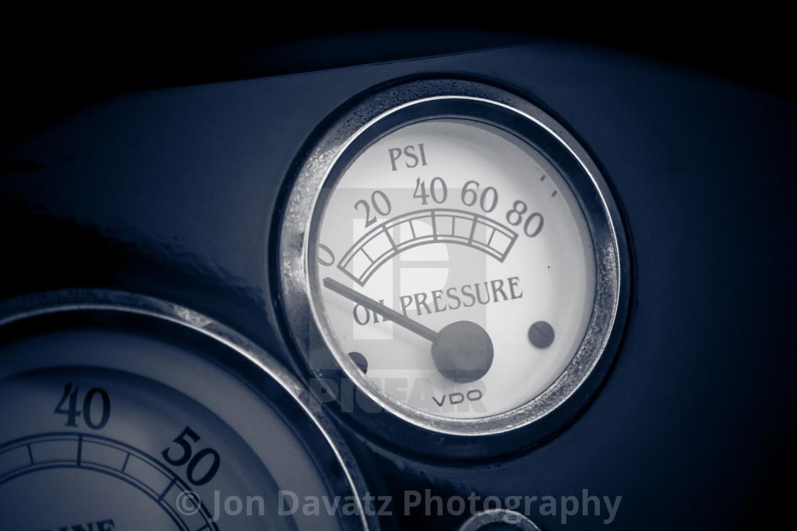 """Oil Pressure"" stock image"