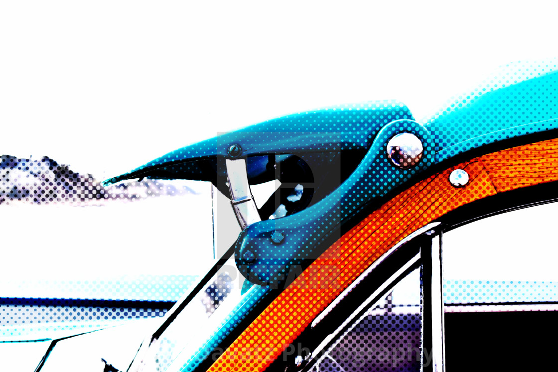 """""""Vintage Car Abstract"""" stock image"""