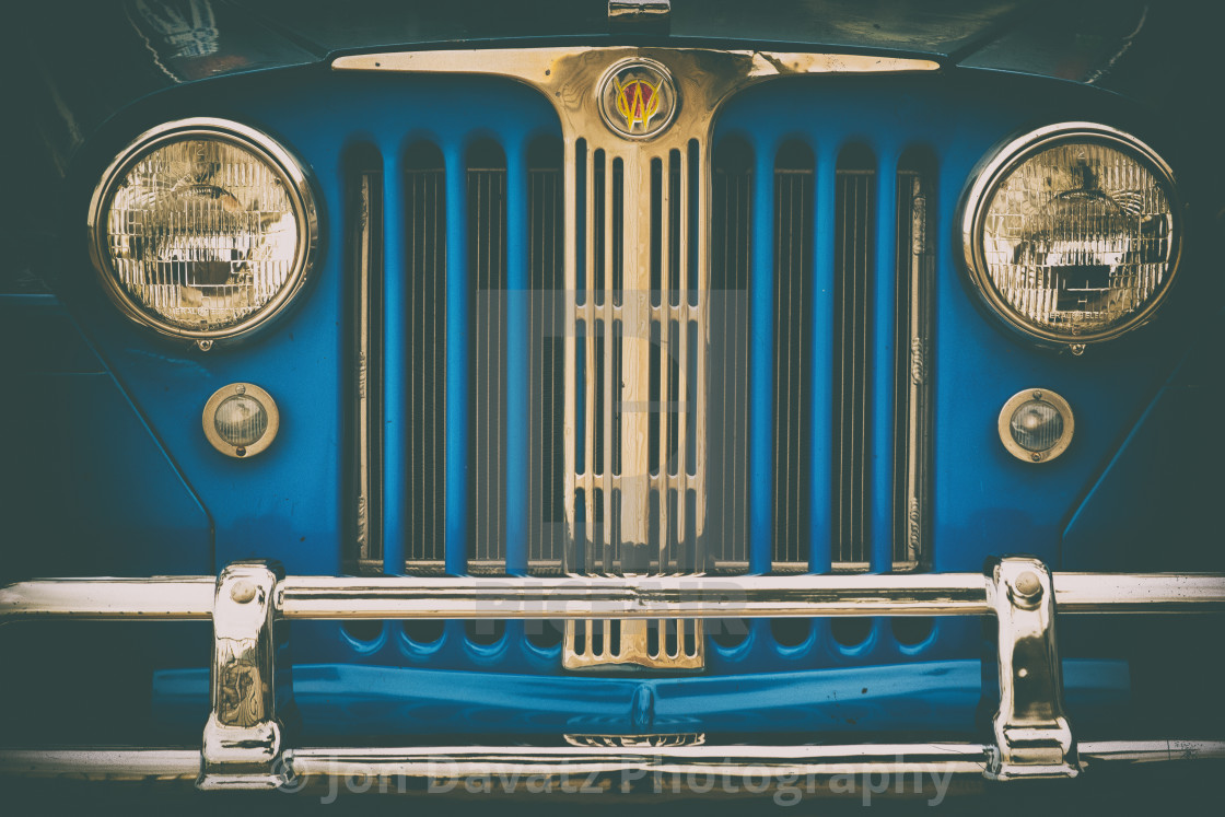 """""""1947 Willy's Jeep Portrait"""" stock image"""
