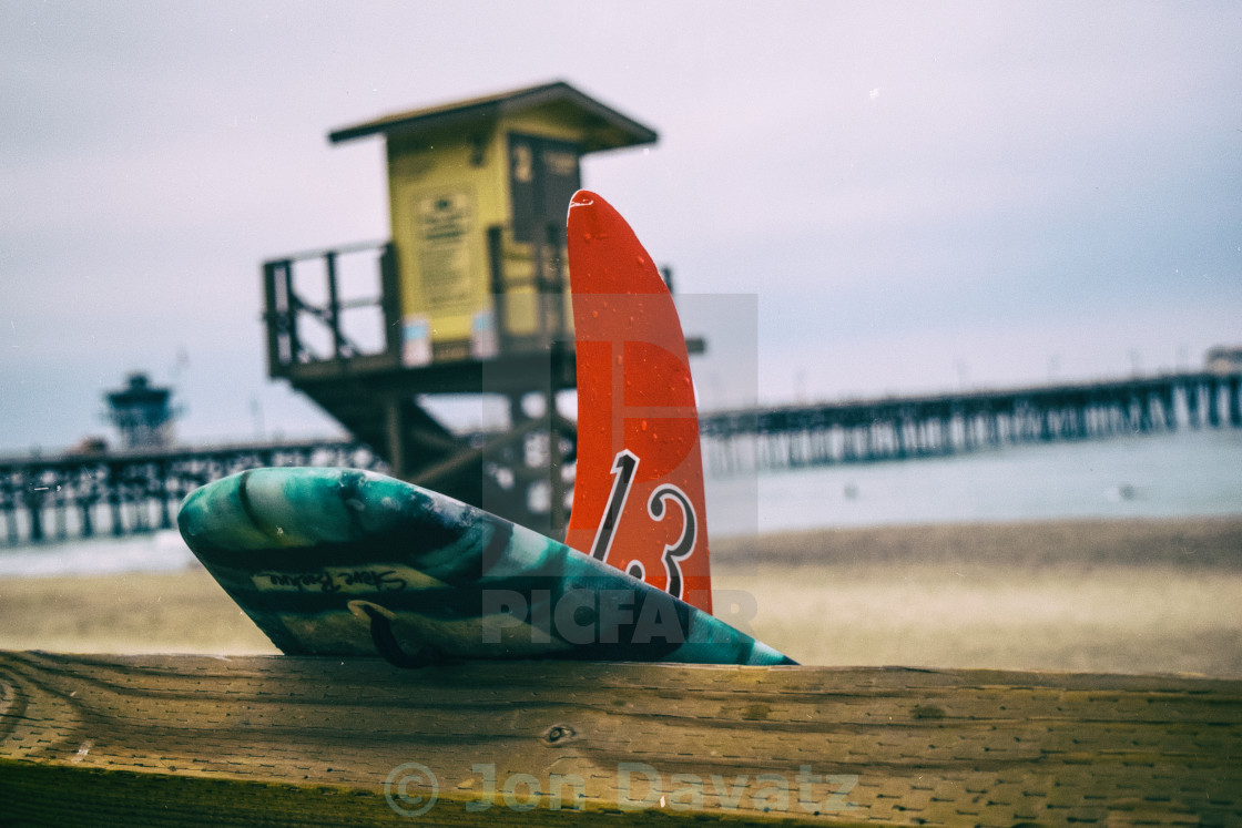 """Surfboard Fin"" stock image"