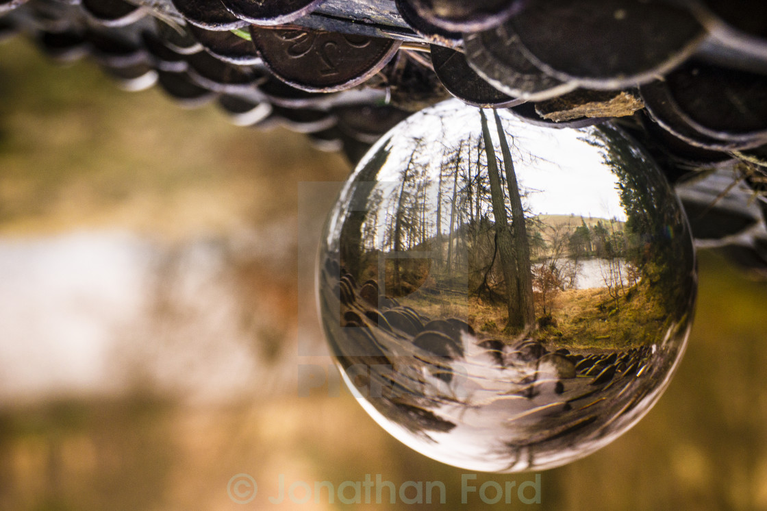 """Crystal Ball of Tawn haws"" stock image"