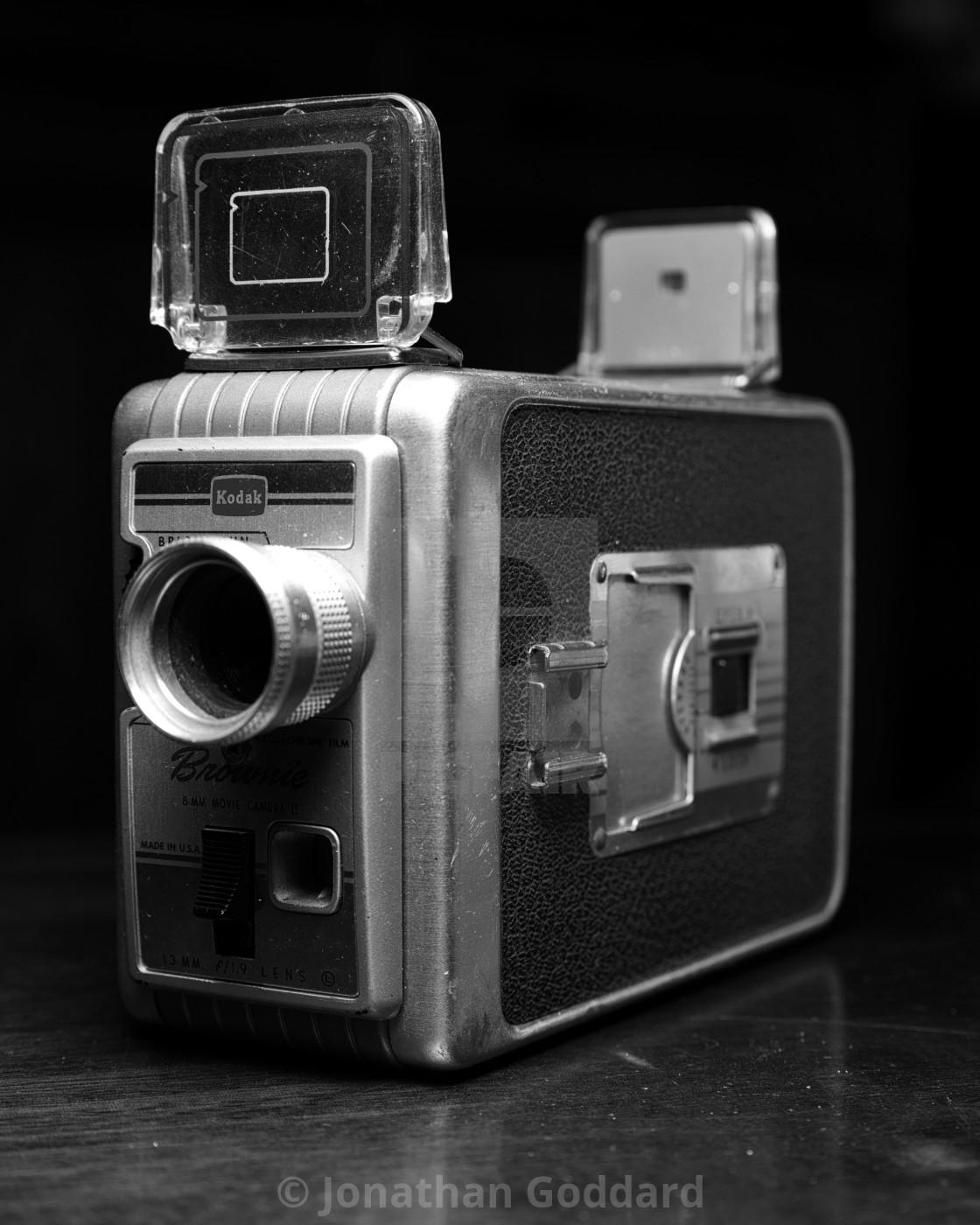 8Mm Vintage Camera vintage camera: kodak brownie 8mm movie camera - license