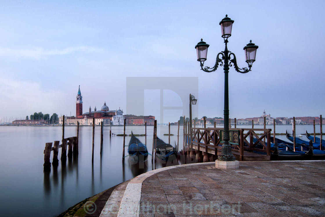 """Venetian Morning"" stock image"
