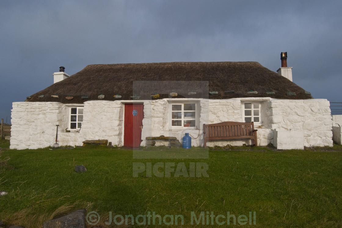 """Hostel Outer Hebrides Scotland"" stock image"