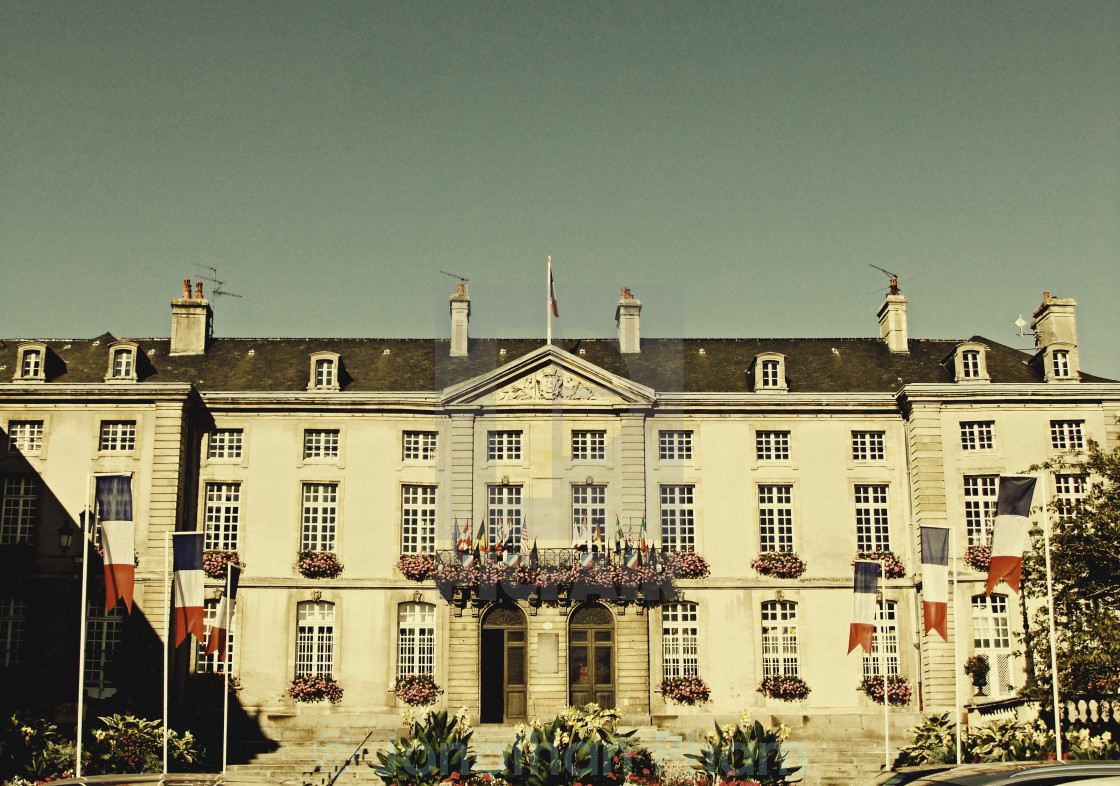 """""""Bayeux Town Hall"""" stock image"""