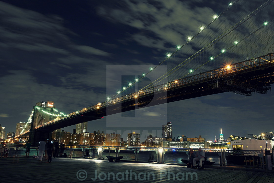 """Brooklyn Bridge"" stock image"