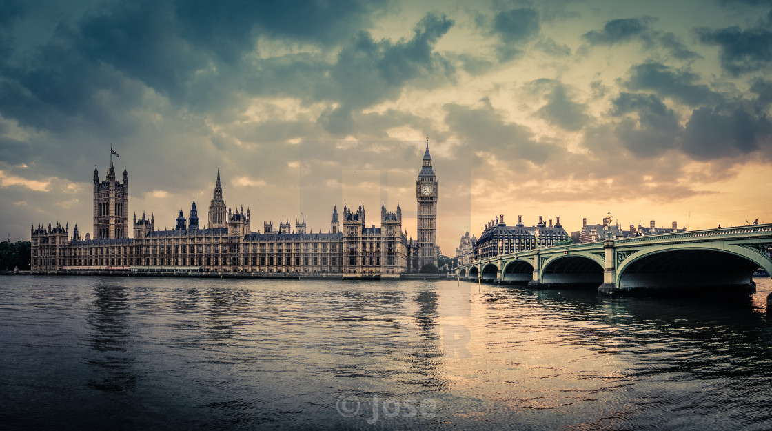 """London Calling"" stock image"