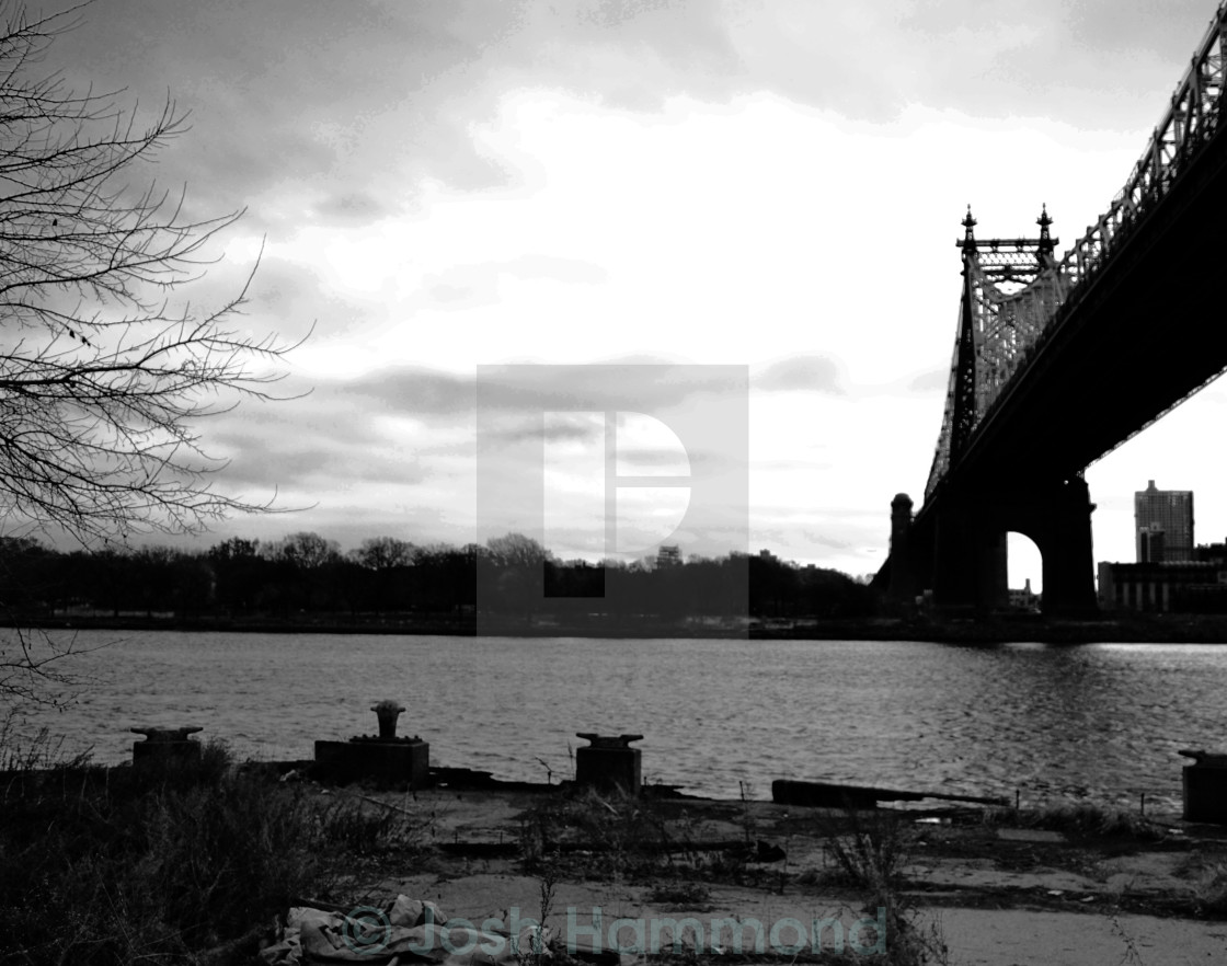 """Queensboro Bridge"" stock image"